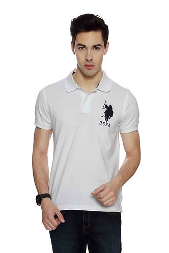USPA Men's White Tshirt