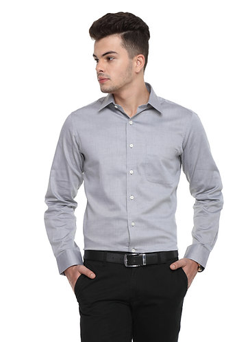 Arrow Auto press light grey shirt