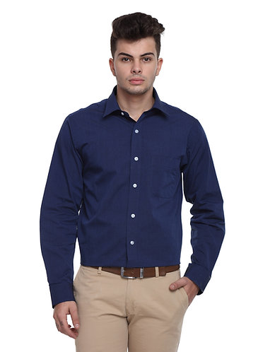 Arrow Easy care Navy Blue Shirt