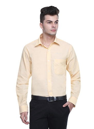 Arrow Easy care Light Yellow Shirt