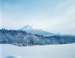 羊蹄付近-冬景色