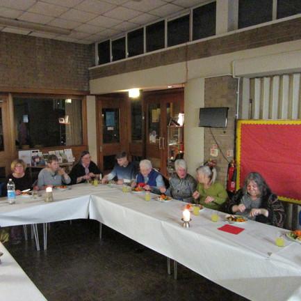 Volunteers Meal January 2020