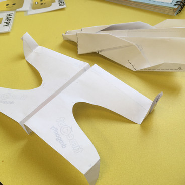 1-1 Coaching Paper Aeroplanes Project