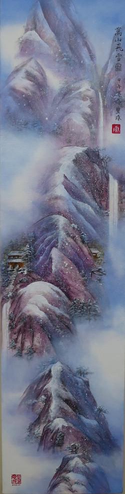Snowfall in Mt