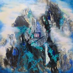 Cosmic Energy 122 x 122cm