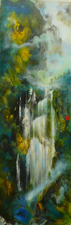 After the Rain 122 x 41cm