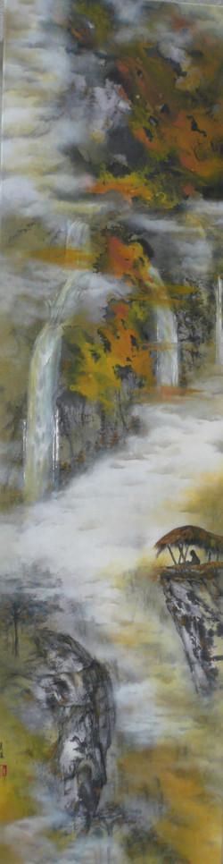 A Spiritual Journey 153 x 41cm