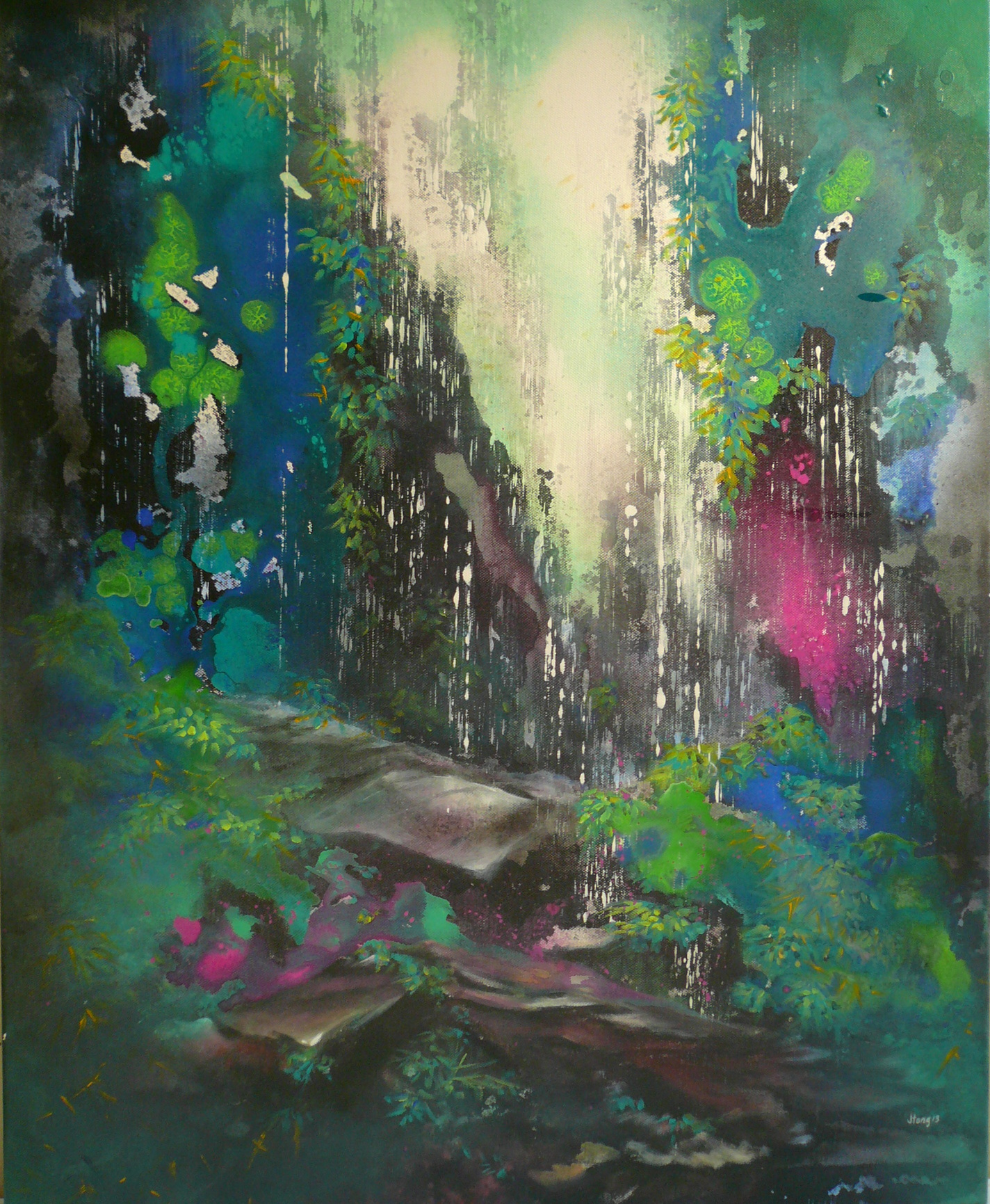 The Cave 75 x 61cm