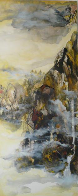 Yellow Haze 153 x 61cm