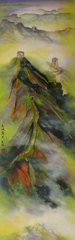 The Great Wall 132 x 41cm