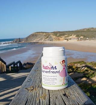 Hashifit Nervenfreund mit Rhodiola Rosea Wurzel-Extrakt Wenn du spürst, dass du müde, schneller reizbar und überfordert bist