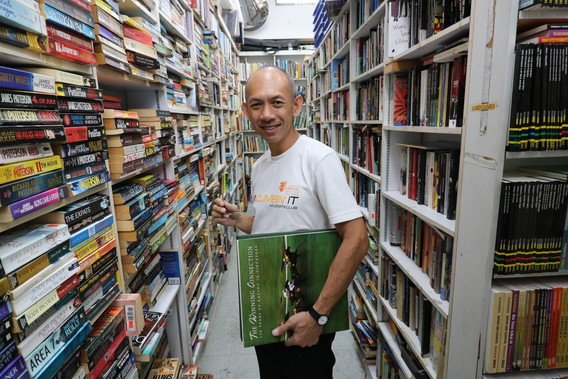 Second Hand Books and a Second Gen Business