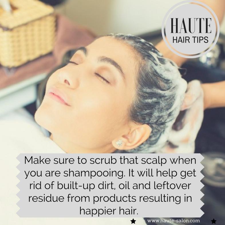HAUTE Hair Tips: Hair Washing Hacks