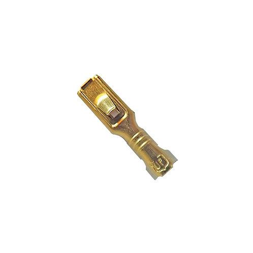 • Flachsteckhülse mit Raste 2,8x0.5mm - 4487000