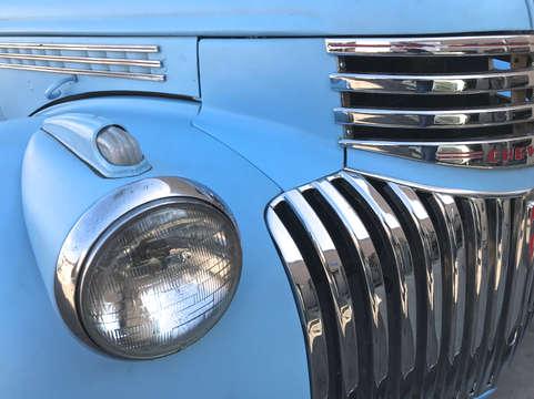 Blue Vintage Truck.JPG