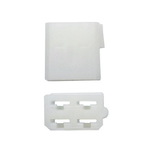 • Steckergehäusse 4 pol. Relaisplatte einteilig - 8290303