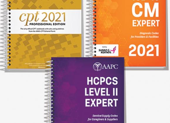 2021 CPT, ICD-10-CM, HCPCS