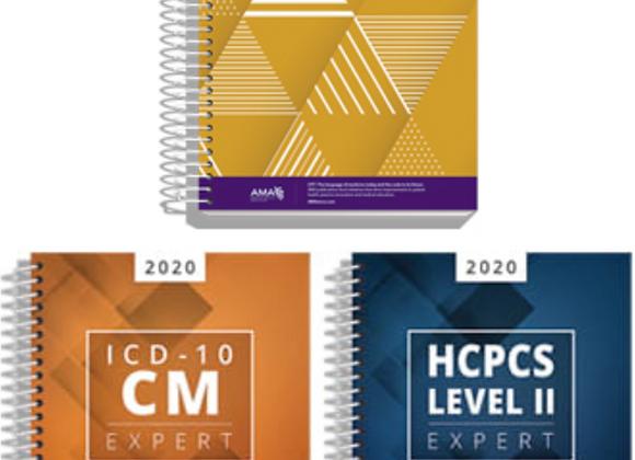 2020 CPT, ICD-10-CM, HCPCS