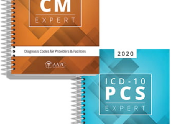 2020 ICD-10-CM, ICD-10-PCS