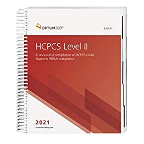 HCPCS 2021 Expert Edition