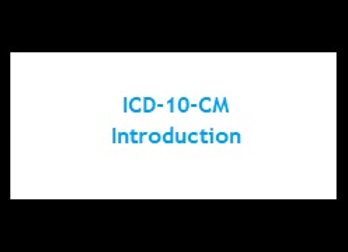 Primer - ICD-10-CM Introduction