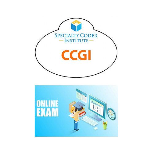 CCGI exam