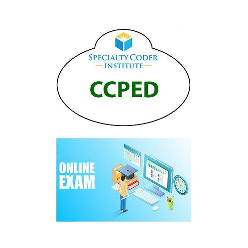 CCPED exam