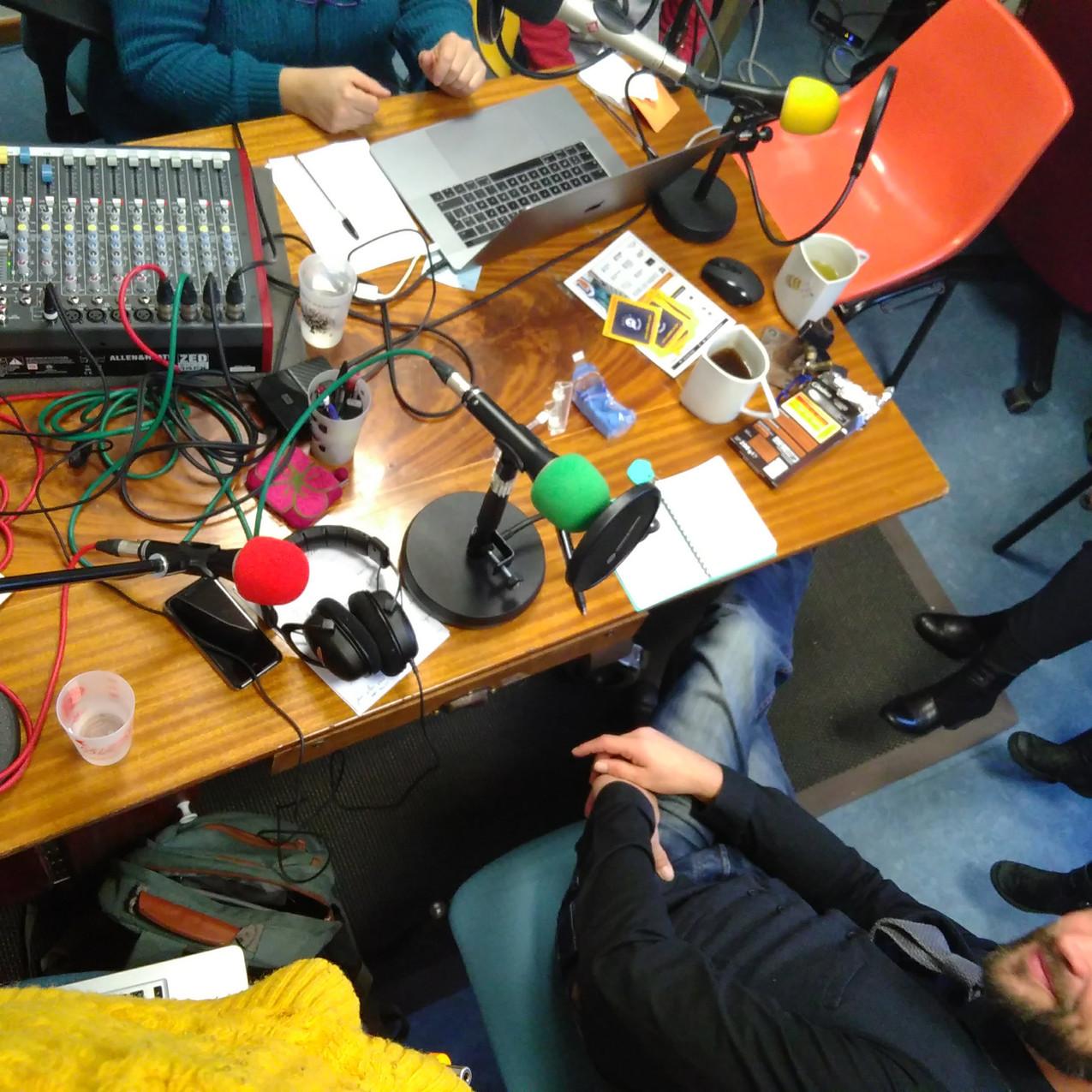 Laurent Lecoultre au studio