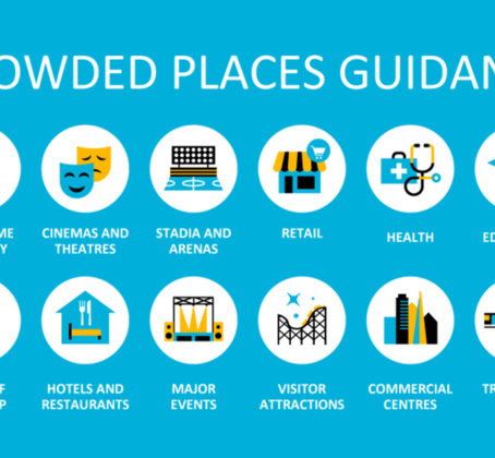 UPDATED - National Counter Terrorism Security Office NaCTSO - New Crowded Places Guidance