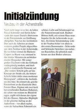 Acherstr. 13 Bonner Illustrierte 10.03