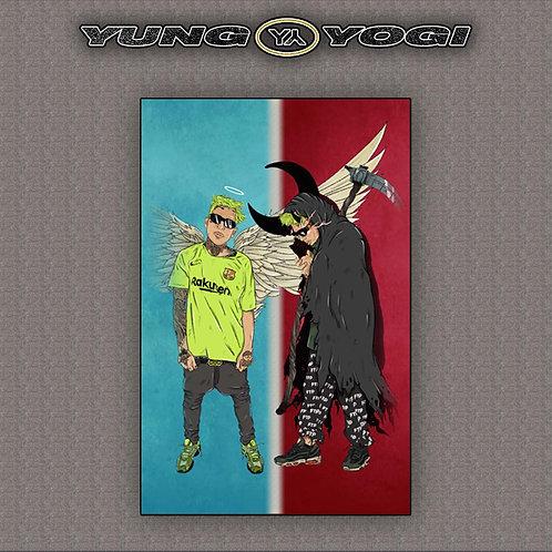 Yung Yogi - Signed Poster