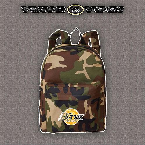 Yung Yogi Camo Print Backpack