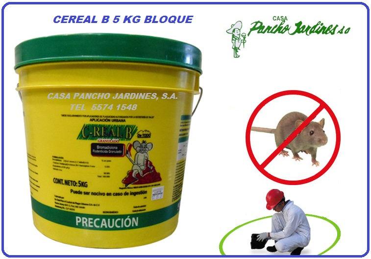 CEREAL B PARAFINADO, CUBETA DE 5 KG, DE TODO