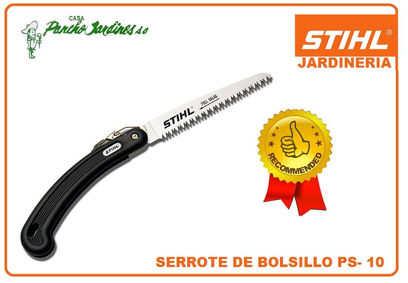 SERROTE DE BOLSILLO PROFESIONAL PLEGABLE STIHL PS 10