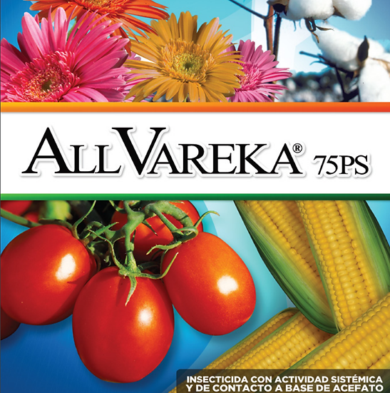 ALL-VAREKA 75PS,  ACEFATO AGRICOLA POLVO SOLUBLE, 250 gr.
