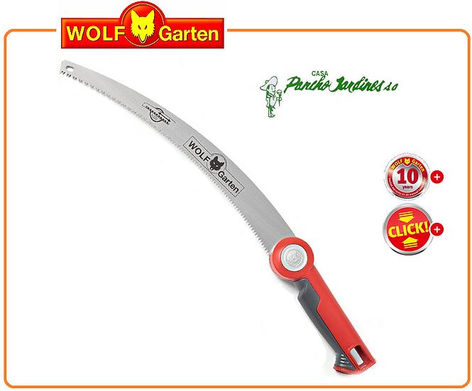 SERROTE CURVO DE PODA PROFESIONAL, WOLF GARTDEN MOD SAW 370