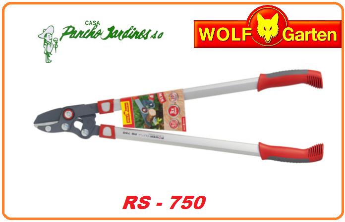 TIJERA CORTA RAMAS A DOS MANOS WOLF GARTEN RS 750 3X
