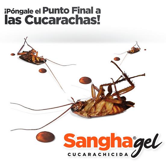 SHANGA GEL, CUCARACHICIDA MUY EFICAZ, 30 GR