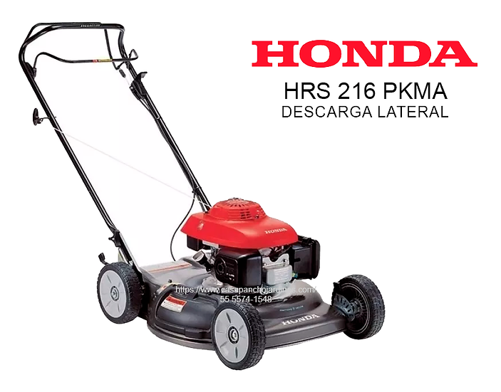 PODADORA HONDA DESCARGA LATERAL HRS 216 PKMA