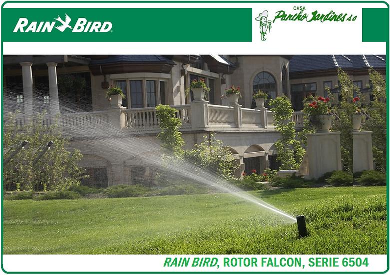ASPERSOR RAIN BIRD FALCON SERIE 6504 CON BOQUILLAS, VASTAGO EN PLASTICO