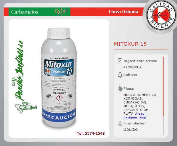 MITOXUR 15 PRPOXUR BAJO OLOR URBANO 1 LT
