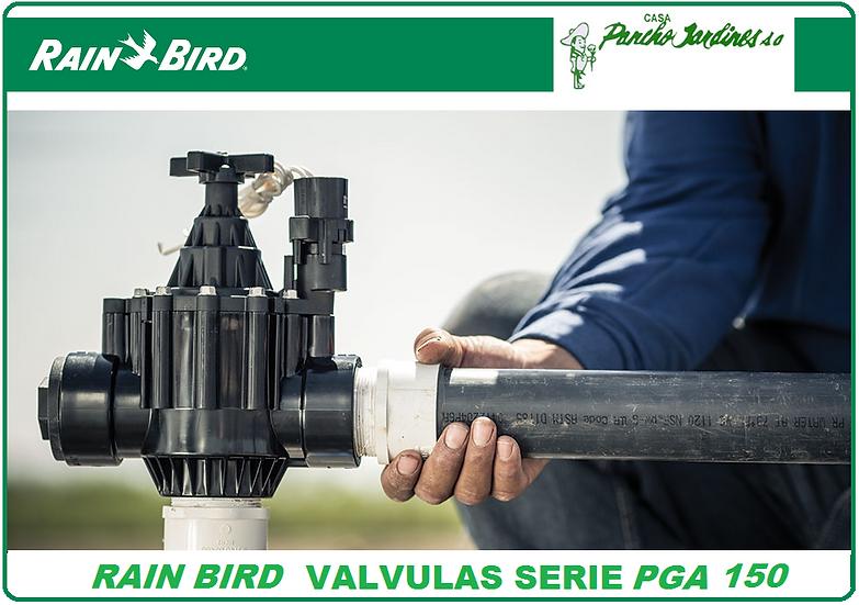 """VALVULA SOLENOIDE RAIN BIRD 1.5"""" SERIE PGA150 NPT 1.5"""""""