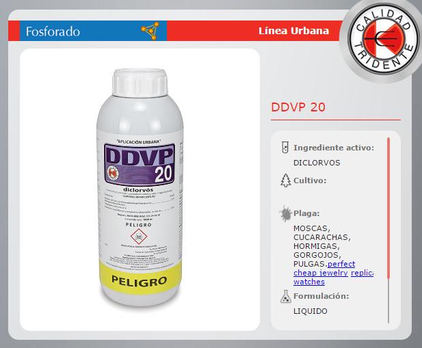 DDVP20 DICLORVOS 20% 1 lt