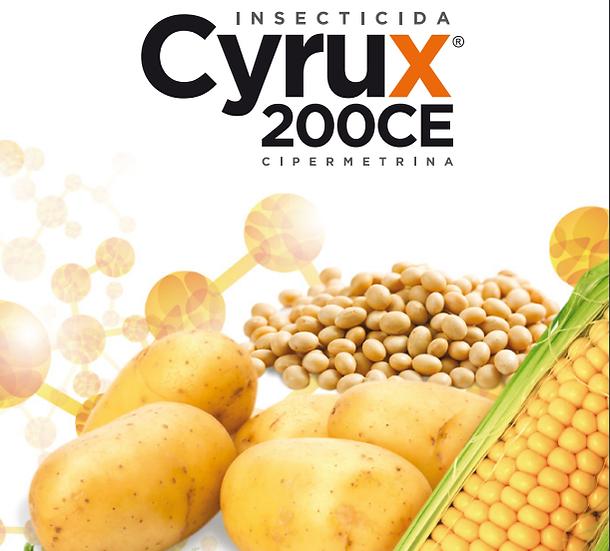 CYRUX CE, CIPERMETRINA AGRICOLA 250 MLS