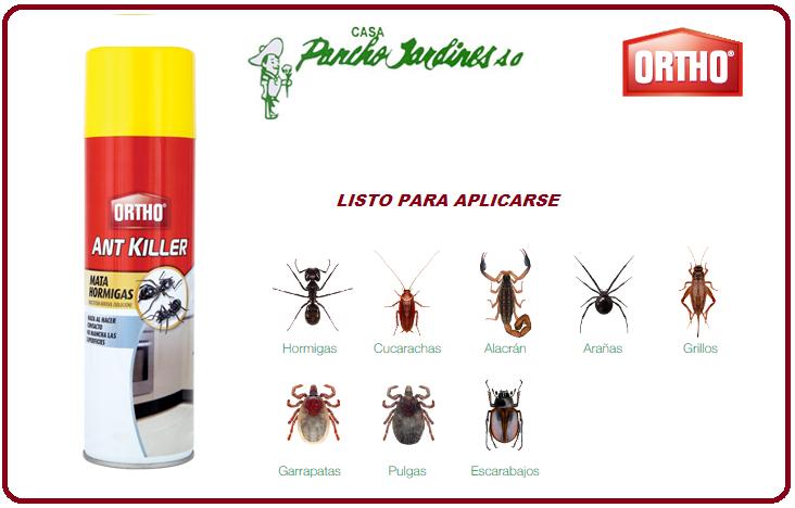 ANT KILLER ORTHO, INSECTICIDA DOMESTICO , ESPUMA EN AEROSOL, 444 ml