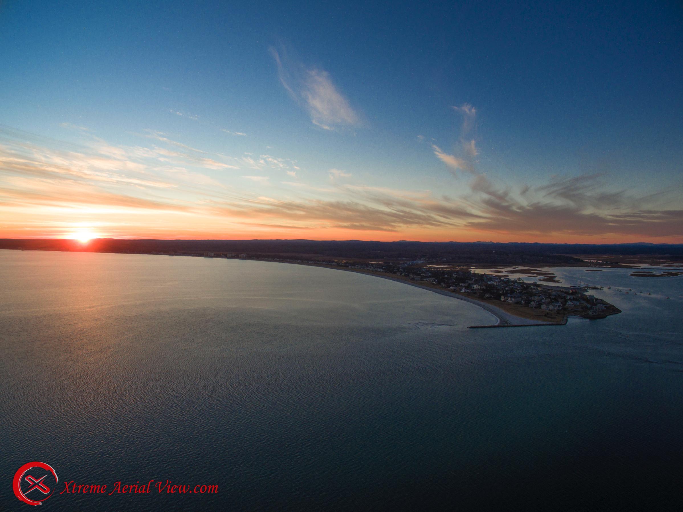 Sunset Pine Point Scarborough