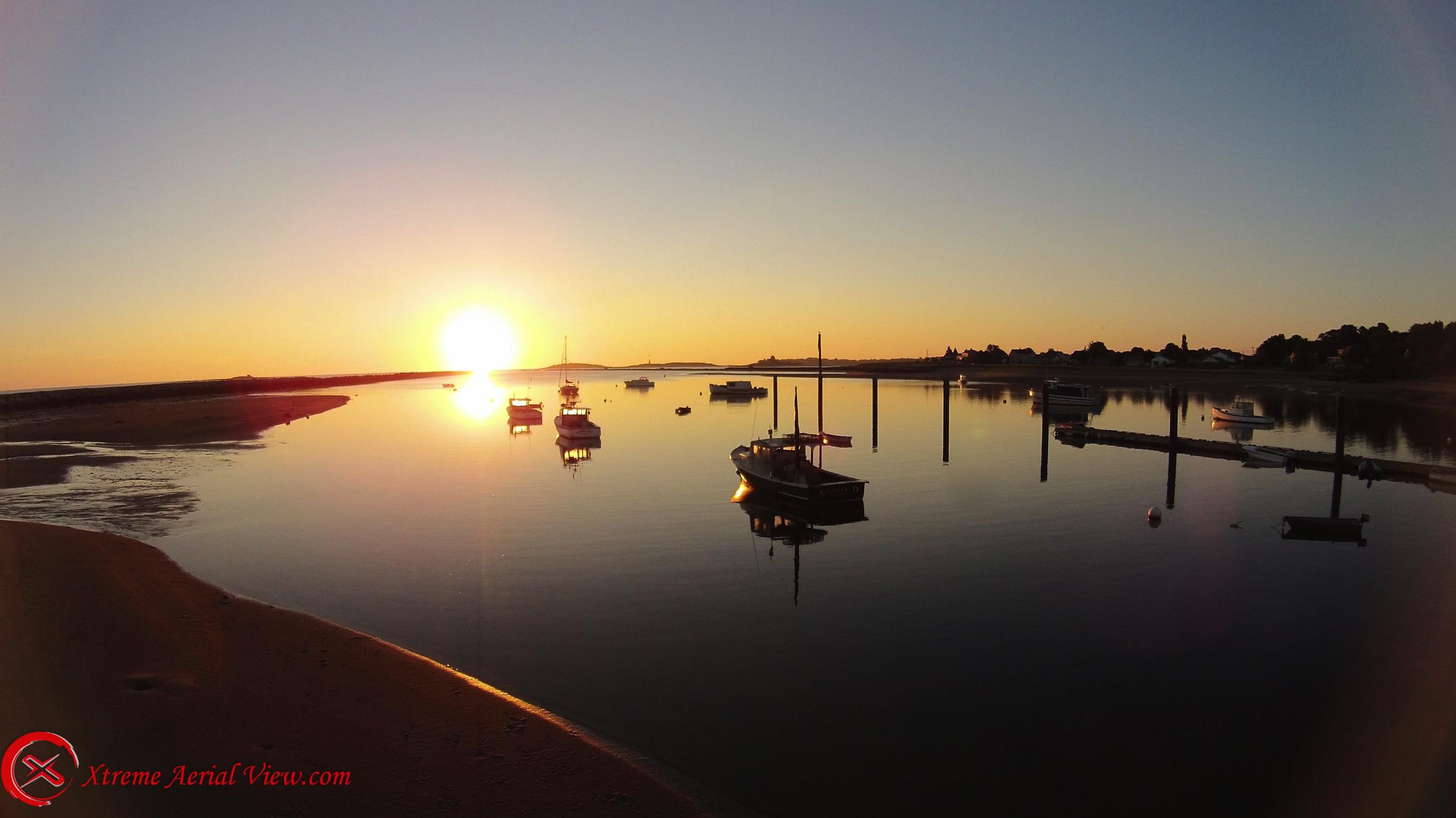 Sunrise at Cape Ellis Maine