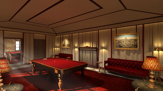 CARIBBEAN COMPOUND SNOOKER ROOM