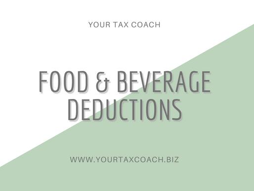 Food & Beverage Deductions