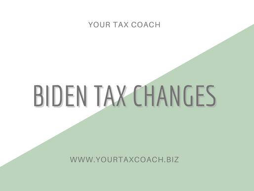 Biden Tax Changes